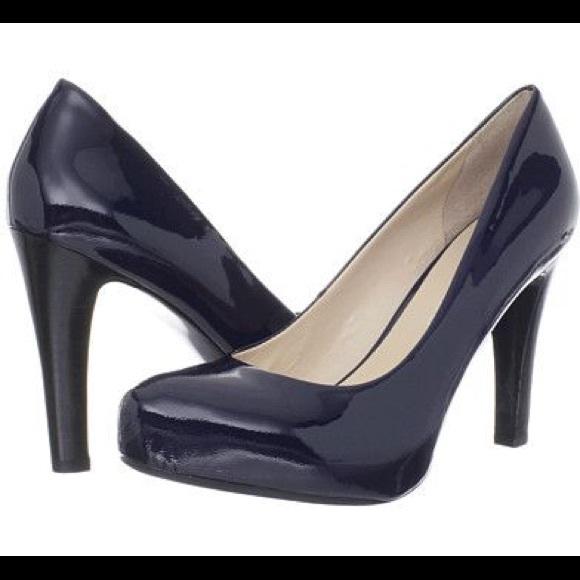 6101834e53a Franco Sarto Shoes - Franco Sarto Cicero Platform Pump in Blue Patent-8